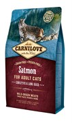 CarniLove - Сухой корм для взрослых кошек (лосось) Adult Sensitive & Long Hair Salmon
