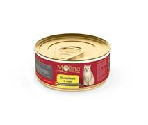 """Molina - Консервы для кошек """"Цыпленок с сыром в желе"""""""