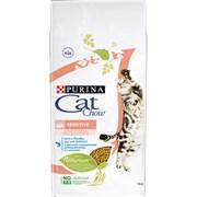 Purina Cat Chow - Сухой корм для взрослых кошек с чувствительной пищеварительной системой