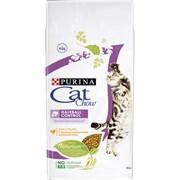 Purina Cat Chow - Сухой корм для взрослых кошек, контролирует образование комков шерсти в ЖКТ