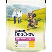 Purina Dog Chow - Сухой корм для взрослых собак мелких пород от 1 года (с курицей)