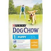 Purina Dog Chow - Сухой корм для щенков до 1 года (с курицей)