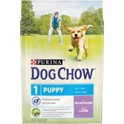 Purina Dog Chow - Сухой корм для щенков до 1 года (с ягненком)