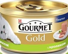 Purina Gourmet - Влажный корм для кошек (Паштет из кролика) Gold