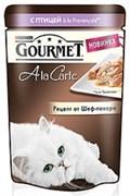 Purina Gourmet - Влажный корм для кошек (с домашней птицей a la Provencale, баклажаном, цукини и томатом) A la Carte