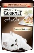 Purina Gourmet - Влажный корм для кошек (с лососем a la Florentine) A la Carte