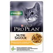 Purina Pro Plan - Влажный корм для стерилизованных кошек и кастрированных котов (с курицей)