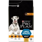 Purina Pro Plan - Сухой корм для взрослых собак крупных пород с атлетическим телосложением (с курицей и рисом) OPTIHEALTH
