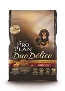 Purina Pro Plan - Сухой корм для взрослых собак мелких и карликовых пород (с курицей и рисом) DUO DELICE