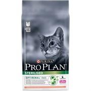 Purina Pro Plan - Сухой корм для стерилизованных кошек и кастрированных котов (с лососем)