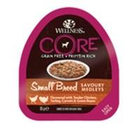 Wellness Core - Консервы для собак мелких пород (попурри из куриного филе с индейкой, морковью и зеленой фасолью)