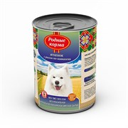 """Родные Корма - Консервы для собак """"Ягненок с рисом по-кавказски"""""""