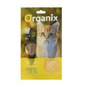 """Organix - Лакомство для кошек """"Нежное филе утки, приготовленное на пару"""" (100% мясо) Tender steamed duck fillet"""