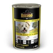 Belcando - Консервы для собак (индейка с рисом) Super Premium Tasty Turkey With Rice