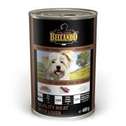 Belcando - Консервы для собак (отборное мясо с печенью) Super Premium Quality Meat With Liver