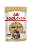 Royal Canin - Паучи для взрослых кошек породы мейн-кун (в соусе) ADULT MAINE COON