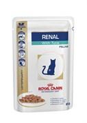 Royal Canin (вет. диета) - Паучи для кошек при почечной недостаточности (с тунцом) RENAL
