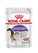 Royal Canin - Паучи для взрослых стерилизованных кошек (в паштете) STERILISED
