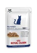 """Royal Canin (вет. диета) - Паучи для стерилизованных кошек """"Контроль веса"""" NEUTERED WEIGHT BALANCE"""