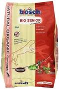 Bosch - Cухой органический корм для пожилых собак Bio Senior + Томаты