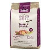 Bosch - Полнорационный корм для собак мелких пород (с фазаном и бататом) Soft Mini