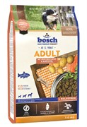 Bosch - Сухой корм для взрослых собак (с лососем и картофелем) Adult