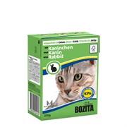 BOZITA - Консервы для кошек (кусочки в желе с кроликом) Tetra Pak Feline Rabbit