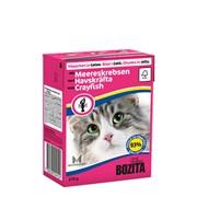 BOZITA - Консервы для кошек (кусочки в желе с лангустом) Feline Srayfish Tetra Pak