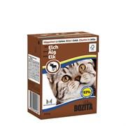 BOZITA - Консервы для кошек (кусочки в желе с лосем) Feline Elk Tetra Pak