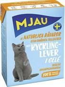 Mjau - Консервы для кошек (кусочки в желе с куриной печенью) Tetra Recart