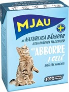 Mjau - Консервы для кошек (кусочки в желе с окунем) Tetra Recart