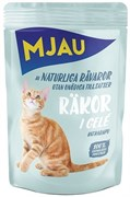 "Mjau - Паучи для кошек ""Креветки в желе"""