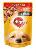 Pedigree - Паучи для собак (Телятина и печень в желе)