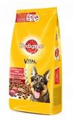Pedigree - Сухой корм для собак крупных пород (с говядиной)