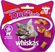 Whiskas - Лакомые подушечки (с говядиной и сыром) Duo Treats
