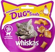 Whiskas - Лакомые подушечки (с курицей и сыром) Duo Treats