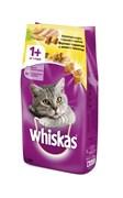 Whiskas - Сухой корм для кошек (подушечки с паштетом из курицы и индейки)