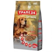 Трапеза - Сухой корм для собак ОПТИМАЛЬ