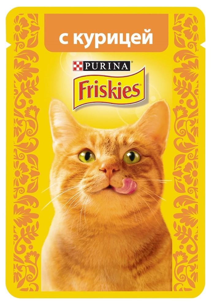 Friskies корм для кошек влажный