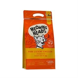"""Barking Heads - Сухой корм для взрослых кошек """"Куриное наслаждение"""" (с курицей и рисом) Paw Lickin' Chicken - фото 10053"""