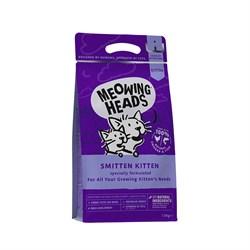 "Barking Heads - Сухой корм для котят ""Восторженный котенок"" (с курицей и рисом) Smitten Kitten - фото 10064"