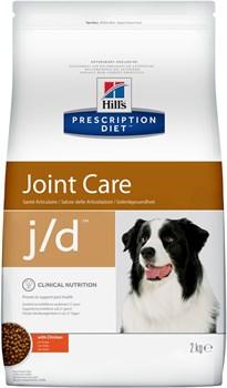 Hill's (вет. диета) - Сухой корм для собак лечение заболеваний суставов J/D - фото 10110