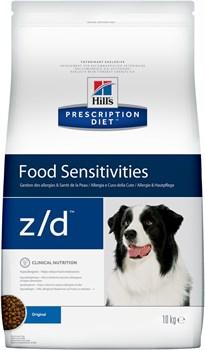 Hill's (вет. диета) - Сухой корм для собак лечение острых пищевых аллергий Z/D - фото 10111