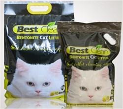 Best Clean - Наполнитель комкующийся для кошек (лимон) - фото 10158