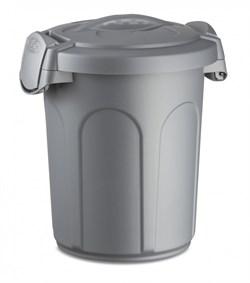 Stefanplast - Контейнер для хранения корма, 24x27x31см, 8л (серебряный) Container Speedy Silver - фото 10216