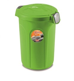 Stefanplast - Контейнер для хранения корма, 37х32х46см, 8кг (ярко зеленый) Container Jerry Apple Green - фото 10217