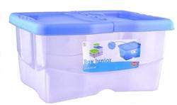 Stefanplast - Контейнер для хранения корма, 40x30x18см, 12л (цвет в ассортименте) Container Junior Assorted - фото 10218
