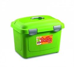 Stefanplast - Контейнер для хранения корма, 45х33х33см, 26л (зеленый) Bello Multiporpose Case Green - фото 10219