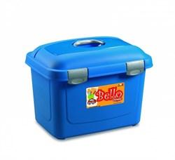 Stefanplast - Контейнер для хранения корма, 45х33х33см, 26л (синий) Bello Multiporpose Case Blue - фото 10220