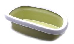 Stefanplast - Туалет Sprint-20 с рамкой, зеленый, 39*58*17 - фото 10276